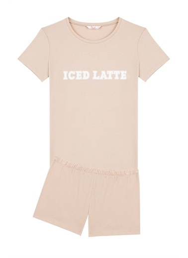 Penti Pijama Takım Kahve